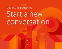 Cablevisión Fibertel Digital Rebranding