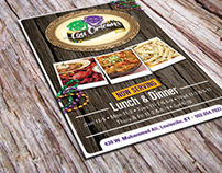 Flyer & Menu Collection