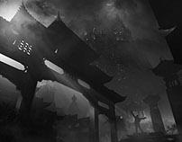 Concept art - Mysterious environment