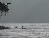 The Chindwin River, Myanmar