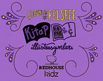 """Redhouse Kidz """"Çocuklar için Felsefe"""" İllüstrasyonları"""