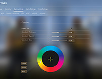 Panorama UI Crosshair Changer Concept