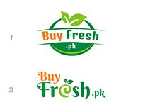 buyfresh.pk logo design