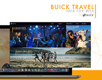 Buick Travel - Idea for web campaign