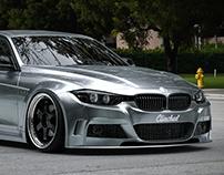 BMW F30 Clinched. Visualization.