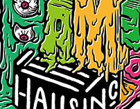 """Zombie Invasion"" Exhibition. Bam Bam Bam @ HAUSINC"