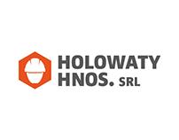 HOLOWATY HERMANOS branding and identity