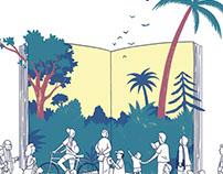 Illustration book festival