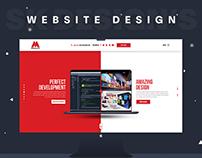 """Digital Agency Website Design """"Miraclus"""""""