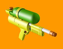 Water Gun Full CGI