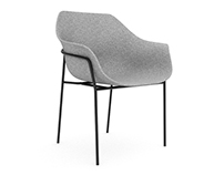 Free 3D Model: Ettoriano chair by Ligne Roset