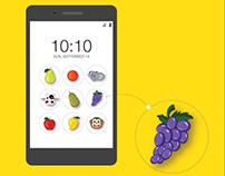 Application Design: Unlock screen pattern