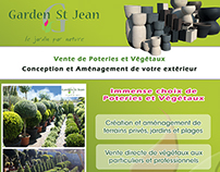 Garden St Jean - Postal mailing