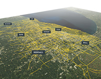 Chicago's mobility data visualization