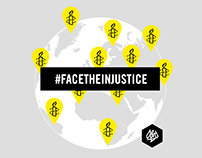 D&AD WINNER | #facetheinjustice