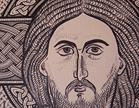 Jesus Christ icon set