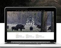 Oręż Koło Łowieckie - logo & website