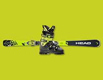 HEAD ALPINE - LYT TECH Products; V-Shape and Nexo