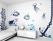 good fishing ? :: children's wall decals