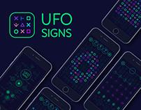 UFO SIGNS Mobile Game | UI Design