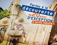 """BROCHURE Chéquier """"Pass Découverte"""" - 48 pages"""
