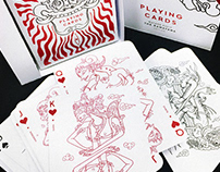 PLAYING CARDS - JAVANESE SHADOW PUPPET
