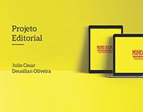 Revista Acadêmica do Curso de Design gráfico Estácio.