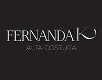 Identidade Visual Fernanda K Alta Costura