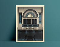 Ben Folds Five O2 Glasgow Screenprint Poster