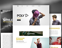 POLY - Web Design