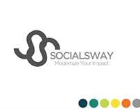 SocialSway Logo Design