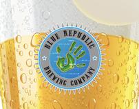 Blue Republic Brewery, USA (Brand Identity)