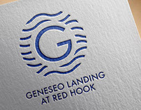 Geneseo Landing At Red Hook logo and signage