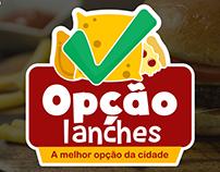 Logotipo Opção lanches