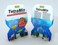 Tetramin Package // Empaque Tetramin