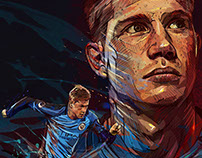 Kevin de Bruyne -Manchester City