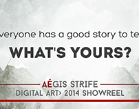 Aégis Illustration & Art Direction 2014 Showreel