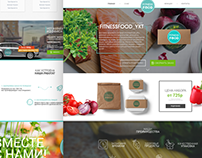 Landing page - for FitnessFood