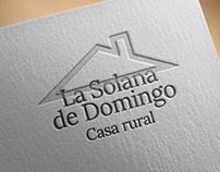 La Solana de Domingo - logo design