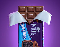 Cadbury Milk Oreo Chocolate