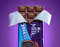 Cadbury Milk Oreo Chocolate
