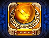 Slingshot Puzzle Icon.