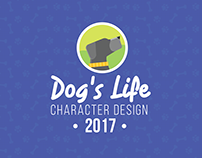 Dog's life Character Design Work