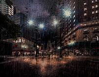 Gotham - Rainy Night