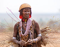 Peuple des Hamers d'Ethiopie