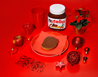 NUTELLA - monochrome serie | red
