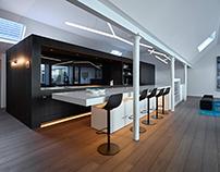 Loft at Waregem by interior Filip Glorieux