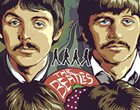 The Beatles Poster for Moviepilot.com