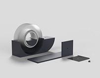 comma tape dispenser