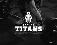 Gym Of Titans - Branding